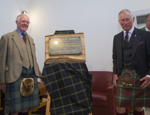HRH The Duke of Rothesay officially opens the Sail Loft
