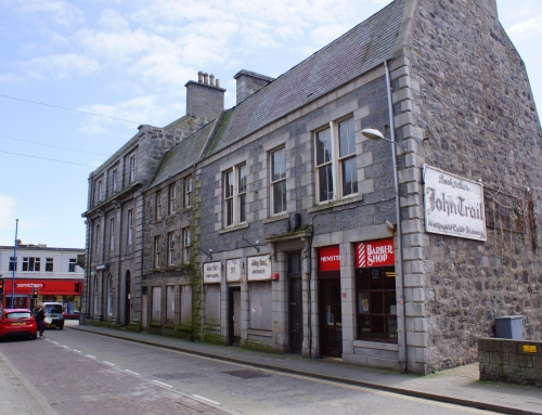 Work begins on former bookshop in Fraserburgh