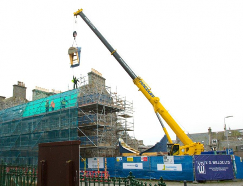 Significant milestone achieved on Fraserburgh hotel project