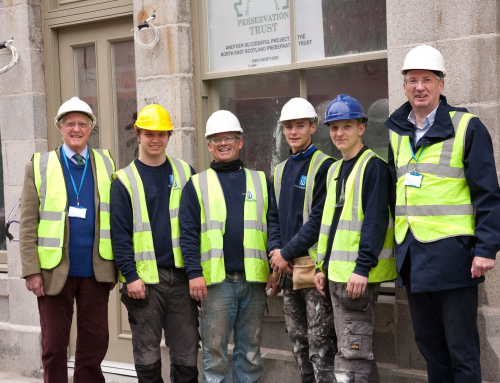 Fraserburgh hotel project provides training for three young men